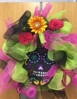 Mrs. Brewer's Spanish class created Dia De Los Muertos Masks