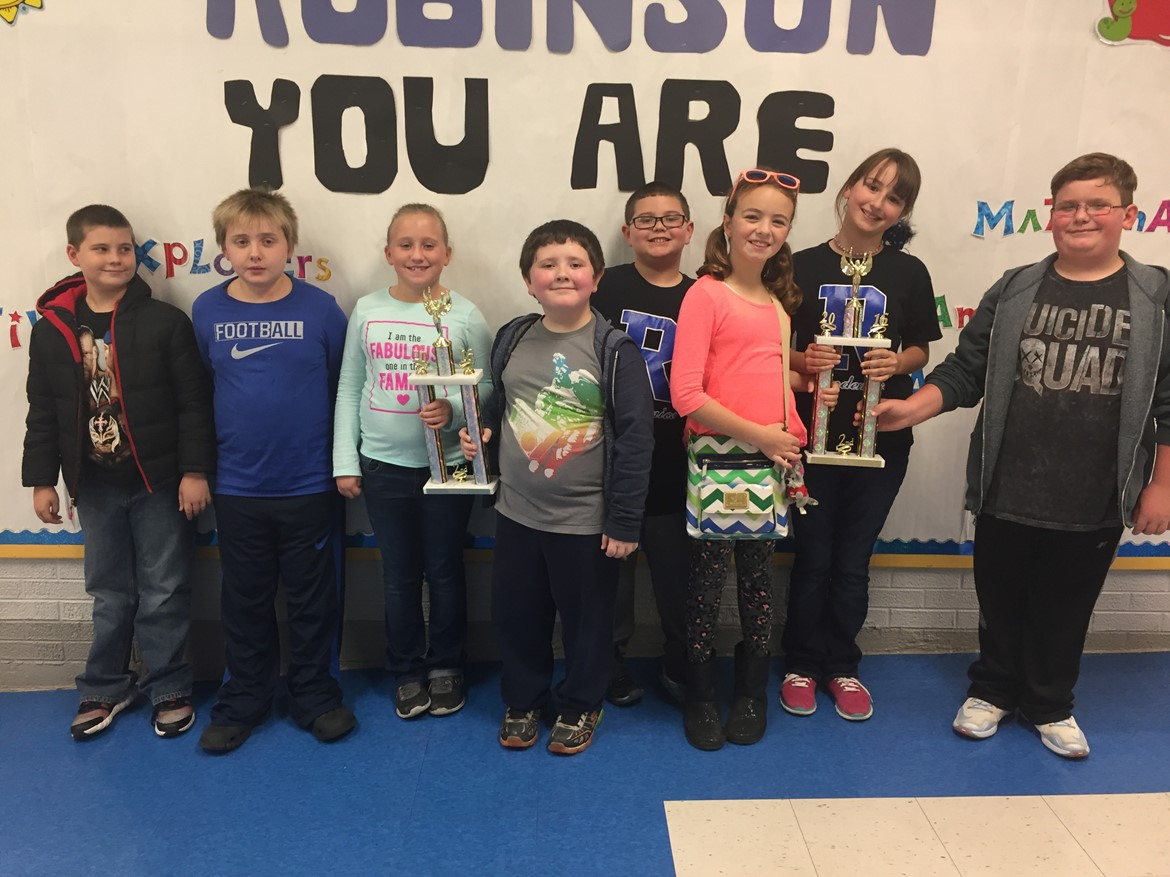 PAL Tournament - Robinson Elementary placed 2nd in quick recall and 2nd overall!!!!