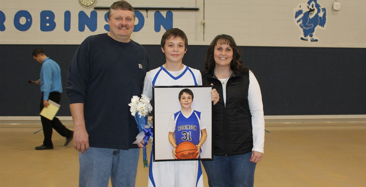 8th Grade Night - Hatch and Family