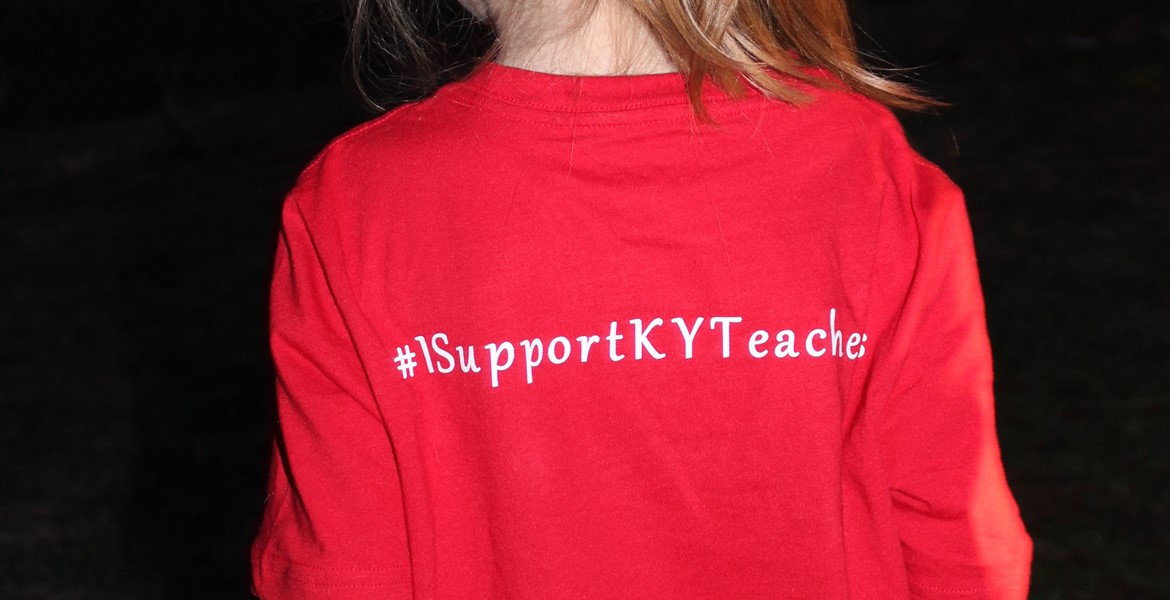Our students support KY teachers.