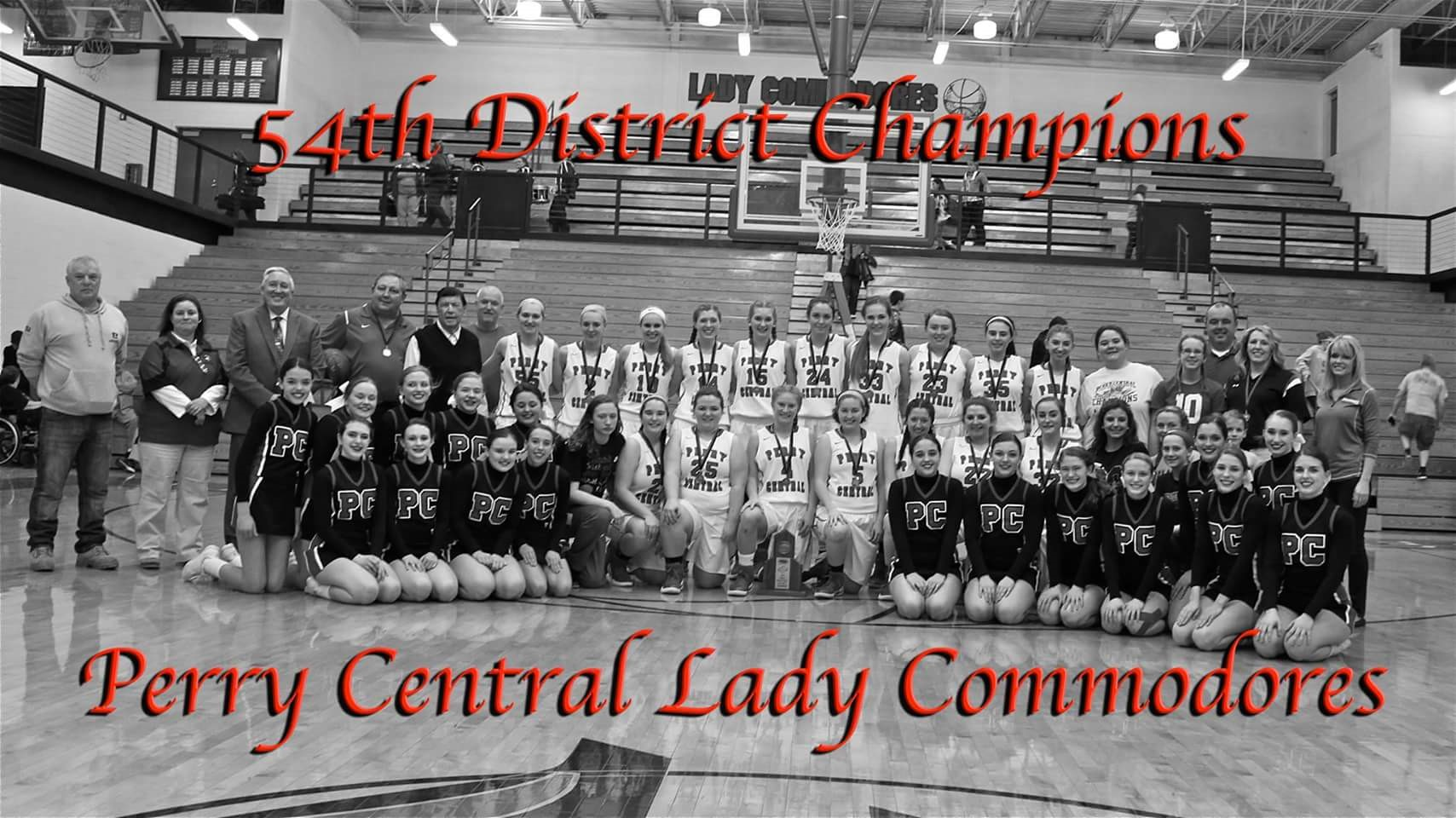 Congratulations Lady Commodores!!  PCC 66 - Leslie Co. 45